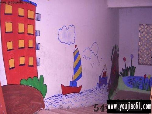 幼儿园室内墙面画